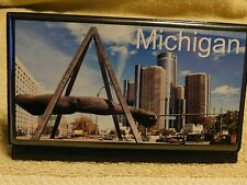 Elongated Pressed Penny Souvenir Album Book - Michigan