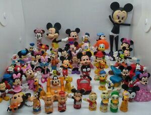 Disney Figures • Mickey ° Minnie ° Donald ° Daisy ° Pluto ° Goofy • Vintage-Now