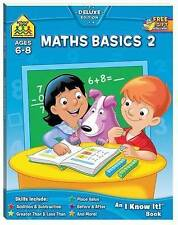School Zone Maths Basics 2 (Ages 6-8) by Hinkler Books NEW Free Shipping!