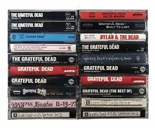 New listing 20x Grateful Dead Cassette Tape Lot: Rare Europe '72 American Beauty +4 Bootlegs