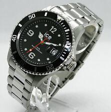 ✅  ICE-WATCH Herren-Armbanduhr Ice Steel Black Silver 016031 ✅