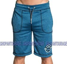AMERICAN FIGHTER Knockout Reversible 331WS030 Men`s New Blue/Black Shorts