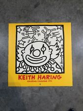 Rare Keith Haring 1995 Coloring Calendar Excellent Condition