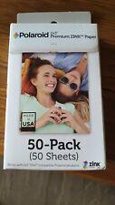 "Polaroid POLZ2X350 2x3"" Premium Zink Photo Paper 50 Pieces - 5 Packs"