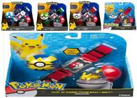 Pokemon Clip N Carry Poe Ball Belt Pikachu Ages 4+ Toy Play Trainer Poke Ball