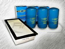 7.3L TURBO DIESEL STANDARD AIR FILTER AND 3 OIL FILTERS KIT FOR FORD