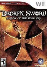 Broken Sword Shadow of the Templars The Director's Cut GAME NINTENDO Wii & U