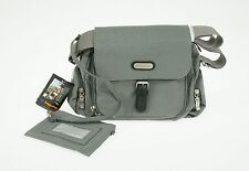 Baggallini Around Town Bagg Bag - Gray New With Tags NWT