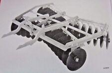 Ih International 300 Tractor U F36 Tandem Disk Harrow 2pt Fast Hitch Manual Disc
