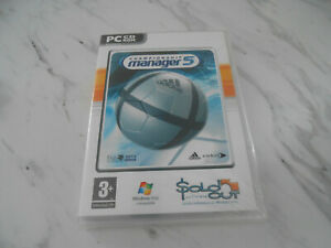 Championship Manager 5 (PC GAME) ** BRAND NEW & SEALED ** CM 5 CHAMP MANAGER 5