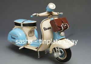 TINPLATE MODEL BLECHMODELL SCOOTER tin toy tinplate car auto loft handmade