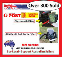 Golf Phone Rangefinder Holder Cradle Bag Buggy Cart eg Bushnell Sureshot iPhone