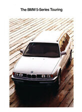 1992 BMW 525i Touring Wagon Original Car Sales Brochure Folder