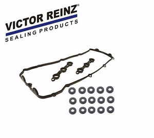 NEW Reinz Valve Cover Gasket Set 15-Pieces Grommets BMW 325 328 330 525 528 X5
