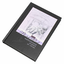 Black A5 Blank Plain 135gsm Sketching Art Journal 128 Page Cartridge Paper Book
