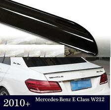 Painted Gloss Black 040 MERCEDES E-CLASS 4D W212 09 15 SPOILER BOOT LIP  UK
