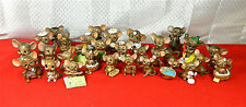 "Wonderful Collection Of 31 Different ""Josef Original Mice"" Figures - Excellent!"