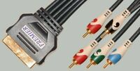 SCART- 5xRCA. COMPONENT / RGB+AUDIO.