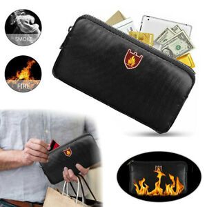 Feuerfeste Tasche Dokumententasche Brandschutztasche Wasserdicht Feuersichere