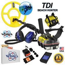 Whites TDI BeachHunter Extreme Pulse Induction Underwater Waterproof Detector