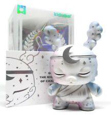 """Kidrobot SPIRITUS DEA Dunny Series NYX WHITE CHASE 3"""" Vinyl Figure NEW"""