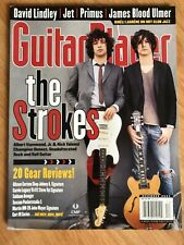 Guitar Player December 2003 The Strokes