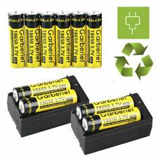 Garberiel BRC 3.7V Battery Li-ion Rechargeable Batteries For LED Flashlight Toys