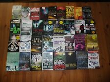 JOB LOT COLLECTION 33 THRILLER / CRIME BOOKS LEE CHILD MICHAEL CONNELLY J D ROBB