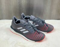 Adidas Boost Solar Drive Men's Running Shoes Gray Red D97450 Size 11