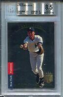 1993 SP Foil Baseball #279 Derek Jeter Rookie Card RC Graded BGS Nm MINT+ 8.5