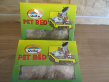 Quiko Nager Pet Bed ist ein reines Nazurprodukt aus Cocos Sisal-Jute 2 x  50 g