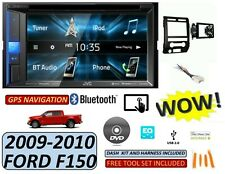 09-10 FORD F150 JVC BLUETOOTH CAR RADIO STEREO W/ 6 BUTTON PANEL
