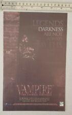 Vampire The Eternal Struggle RARE Print Advertisement