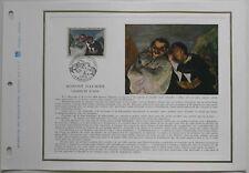 Document philatélique FOS06 1er jour 1966 Honoré Daumier Crispin et Scapin
