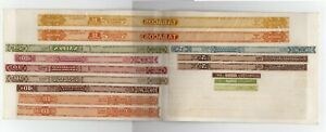 CHILE Ca 1909 Revenue Tabacco seal Cigar Tax stamps American Bank Note proof USA