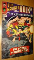 TALES TO ASTONISH #82 IRON-MAN HULK SUB-MARINER FINE