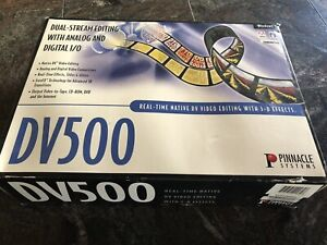 Pinnacle Systems DV500 Plus Real Time Native D V Video Editing System