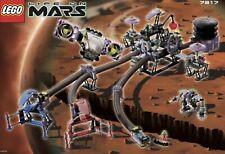 Lego 7317 SPACE:LIFE ON MARS: AERO TUBE HANGER 100%COMPLETE W/ORIG INSTR & MINIS
