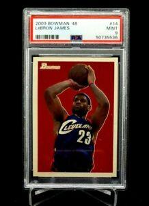 2009 Bowman '48 Lebron James #14 PSA 9 Cavs Heat Lakers