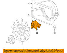 GM OEM Cooling Fan-Pulley 97309640
