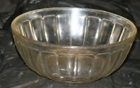 "Hazel Atlas Colonial Block Depression Glass 8"" 7"" 4"" Clear Bowls 8 Available Wow"