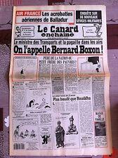 Le Canard Enchainé 27/10/1993; Enquête sur de nouveaux sévices militaires