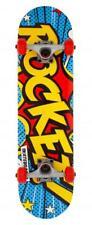 Rocket Skateboards Pop Art Mini Komplettes Skateboard 7.5, Multi