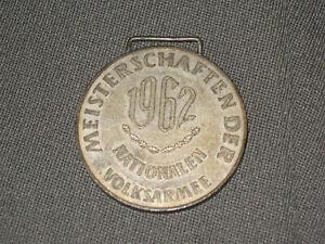 DDR Nva Deporte Campeonato 1962 Plata Medalla