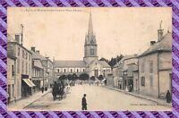 CPA 51 - Eglise de Mourmelon-le -grand et la place d'armes