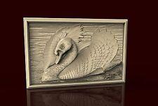 3d STL Model CNC 175 (Swan) Router Engraver Carving Machine Relief Artcam