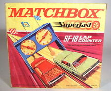 Matchbox Superfast Track Pack SF-18 Lap Counter/Rundenzähler neu in Box