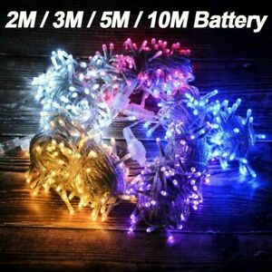 2M-10M LED Waterproof Fairy String Lights Party Xmas Wedding Garden House Decor