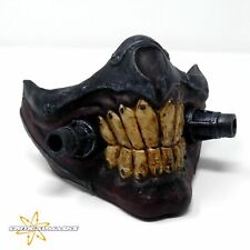 More details for immortan joe style face mask, scifi mask hand sculpted mad max theme cosplay