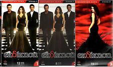 EKDIKISI (Intikam)  TURKISH GREEK TV  SERIES - 3 HUGE BOXES - 39 DVD UNCUT  NEW